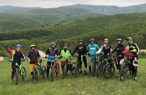 bikepark trening