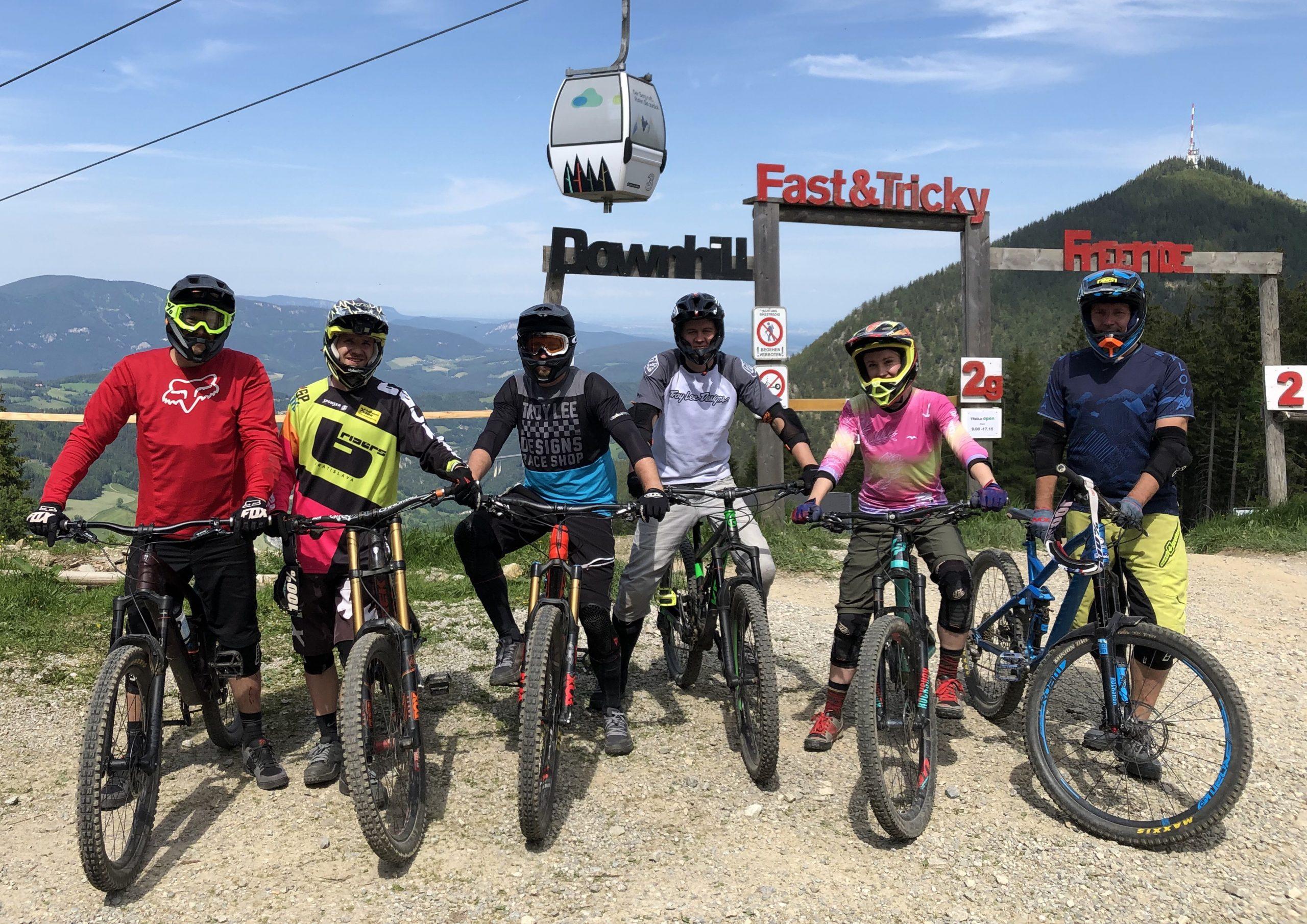 cyklistick treningy v Bratislave