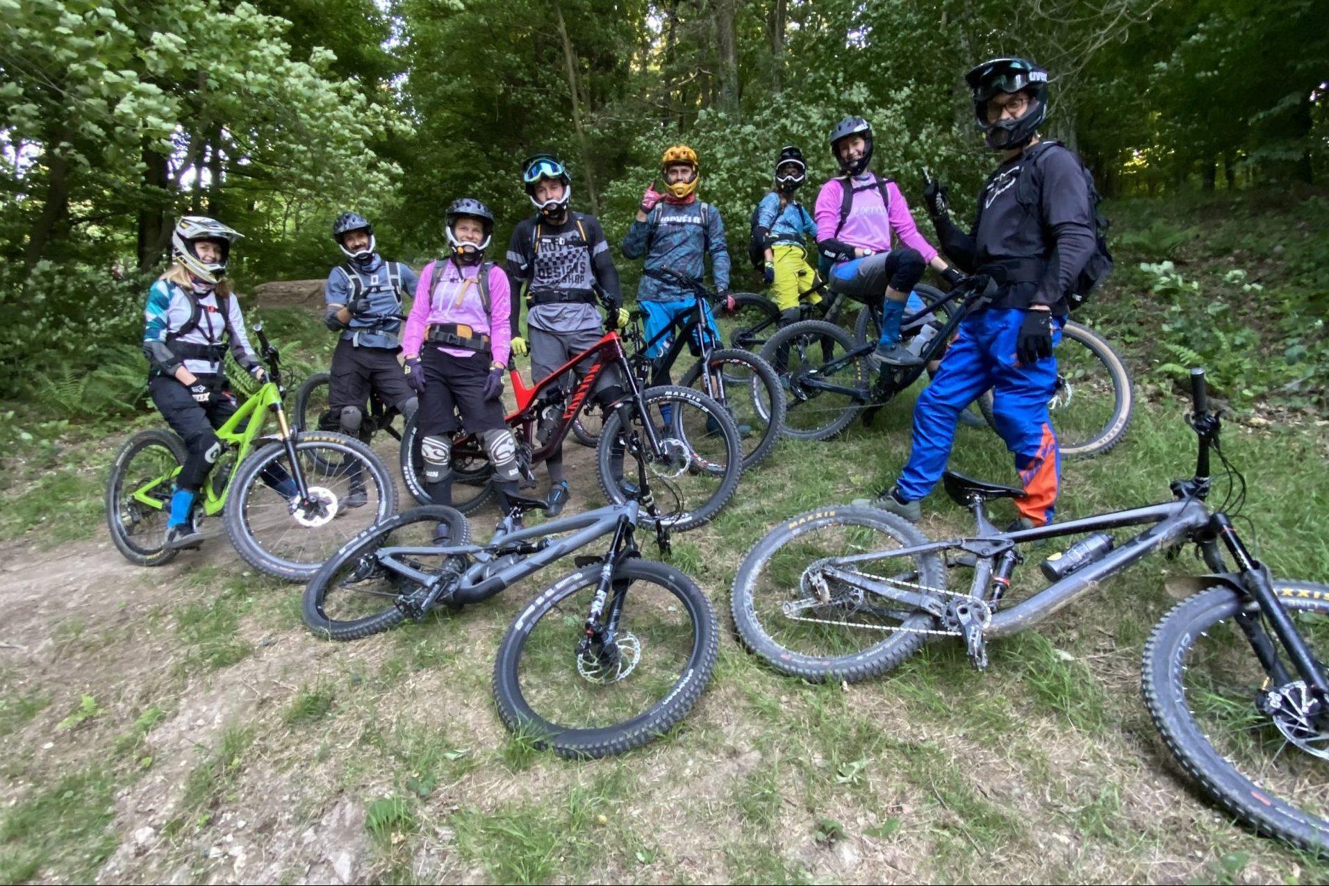 MTB bike trening